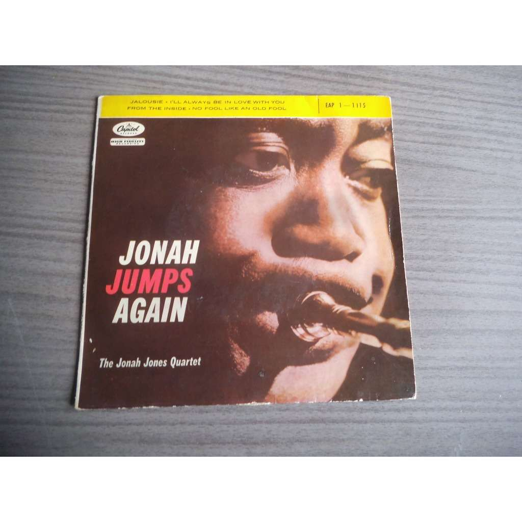 JONAH JONES QUARTET Jalousie / I'll Always Be In Love With You / From The Inside / No Fool Like An old fool
