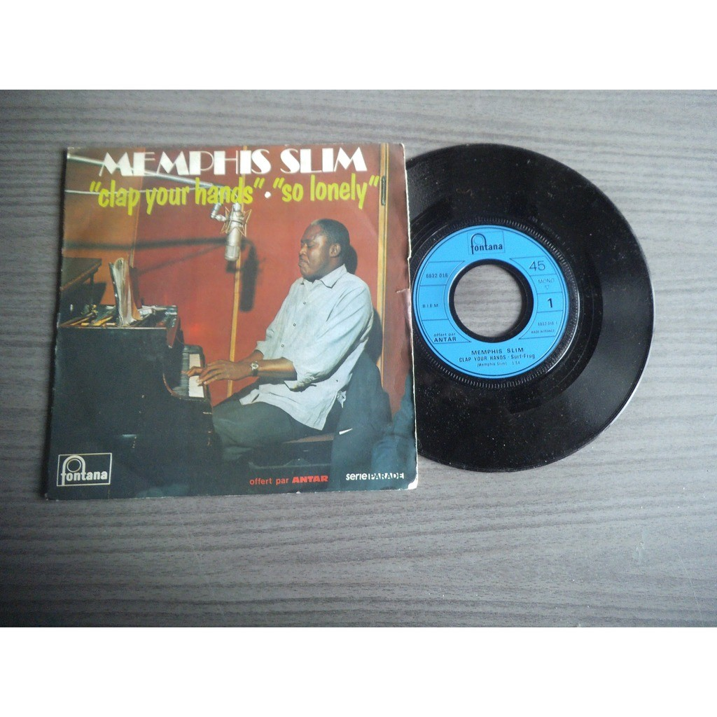 memphis slim clap your hands / so lonely