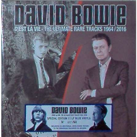David Bowie C'est La Vie - The Ultimate Rare Tracks 1964/2016 (ltd 60 No'd copies 11LP BLU wax box +inserts)