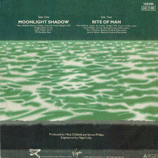 mike oldfield A Moonlight Shadow/ Rite Of Man
