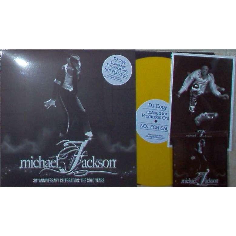 Michael Jackson 30th Anniversary Celebration:The Solo Years (Ltd 30 copies pro w/l LP yellow wax+DVD+photos uniq.ps)