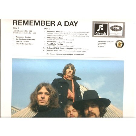 pink floyd remember a day
