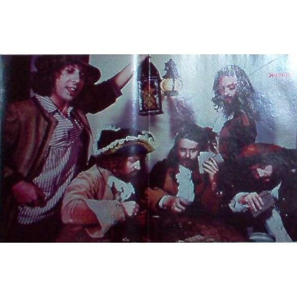 Jethro Tull Jethro Tull (Italian 1974 promo poster from Ciao 2001 magazine!!)