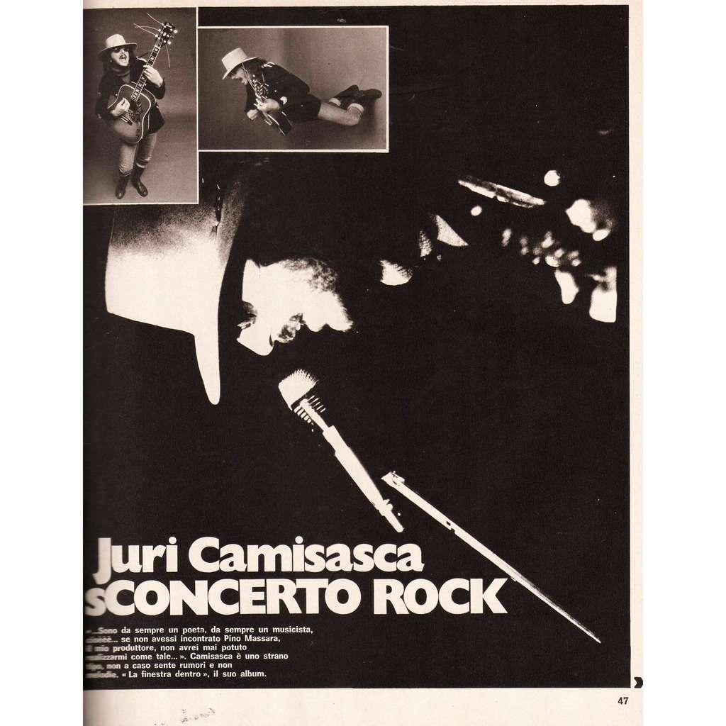 Franco Battiato / Bla Bla / Juri Camisasca Ciao 2001 (20.10.1974) (Italian 1974 music magazine!!)