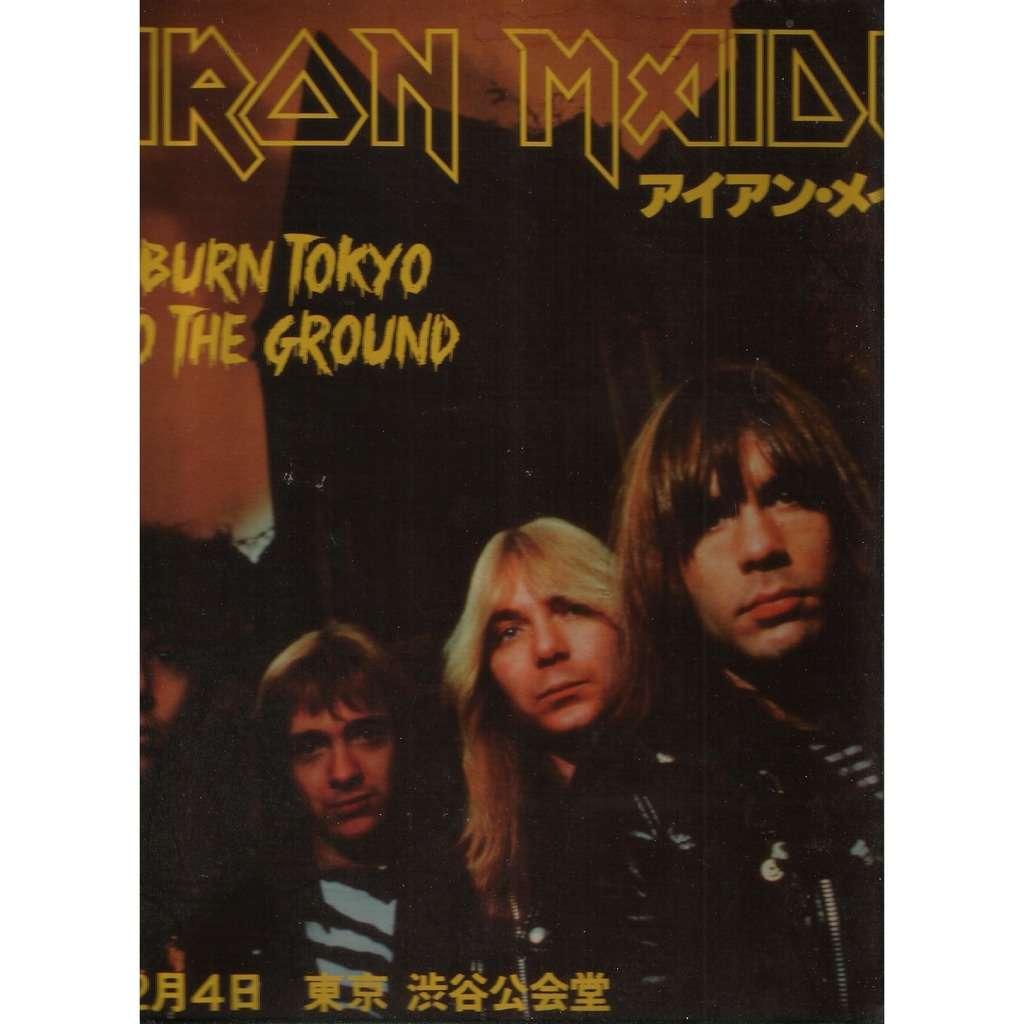 iron maiden burn tokyo to the ground