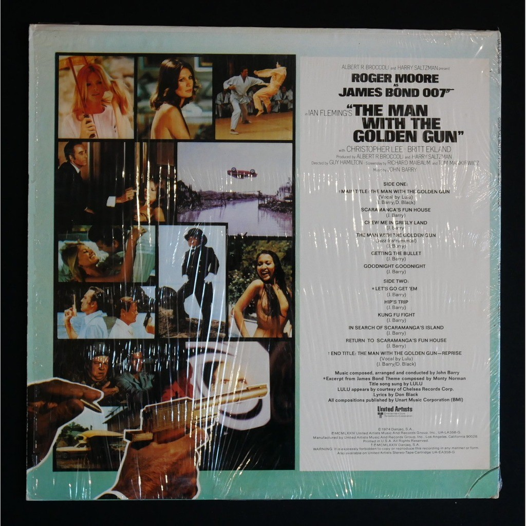 John Barry The Man With The Golden Gun - Ost