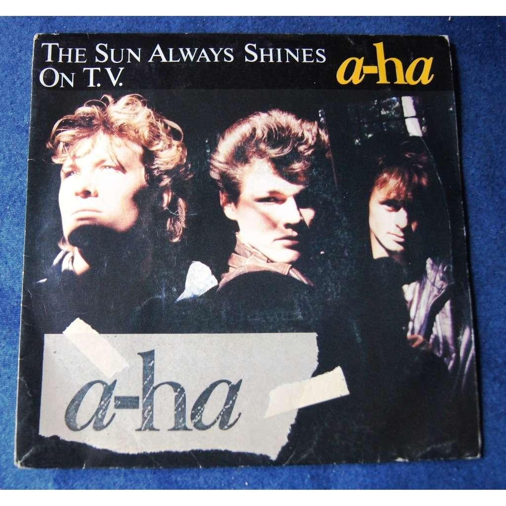 A HA THE SUN ALWAYS SHINES ON TV