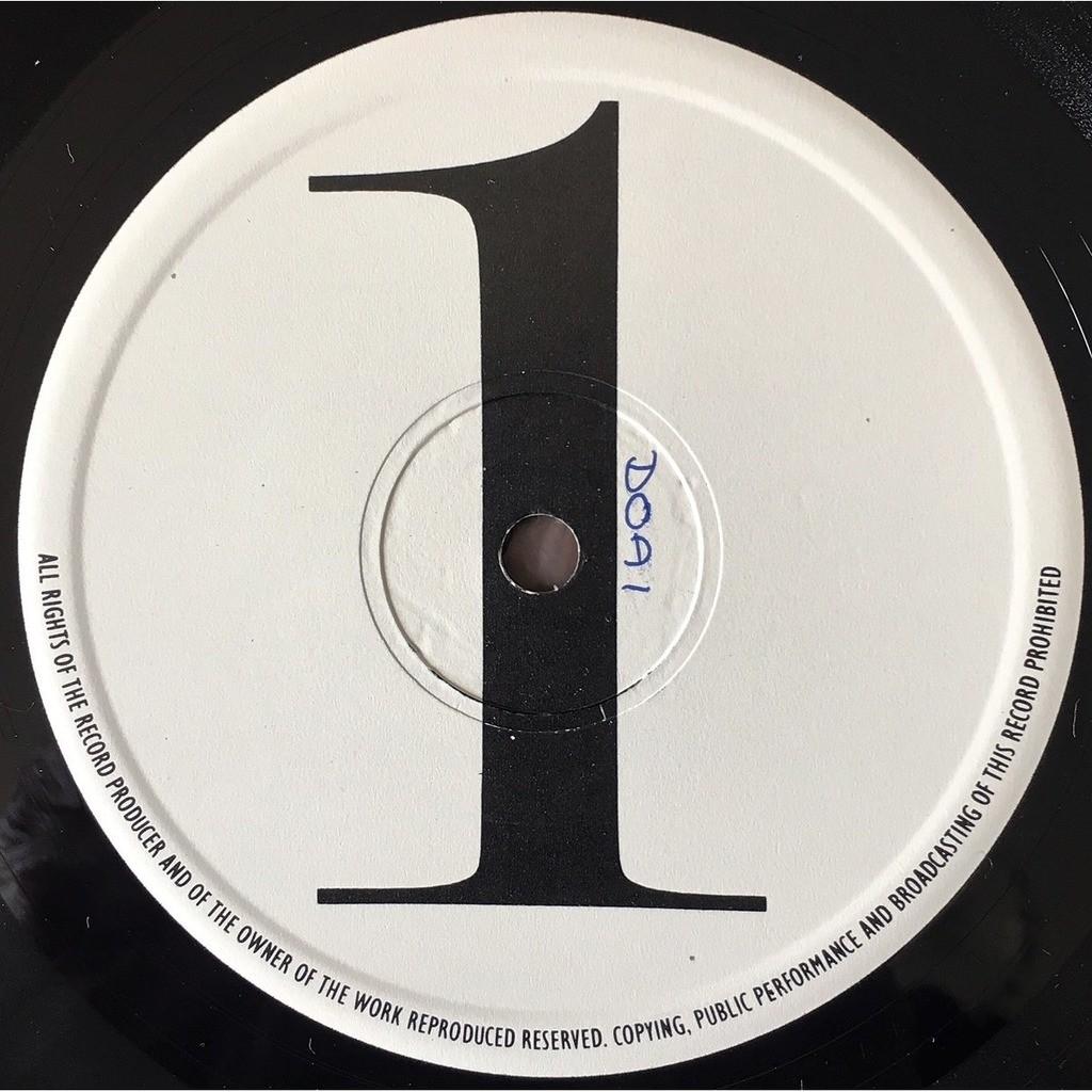 David Bowie David Bowie (UK 1984 w/label 'TEST PRESS' LP on '1' & '2' test lbl + 'proof' original ps)