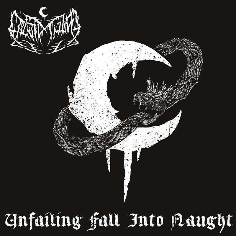 LEVIATHAN Unfailing Fall Into Naught. Silver Vinyl
