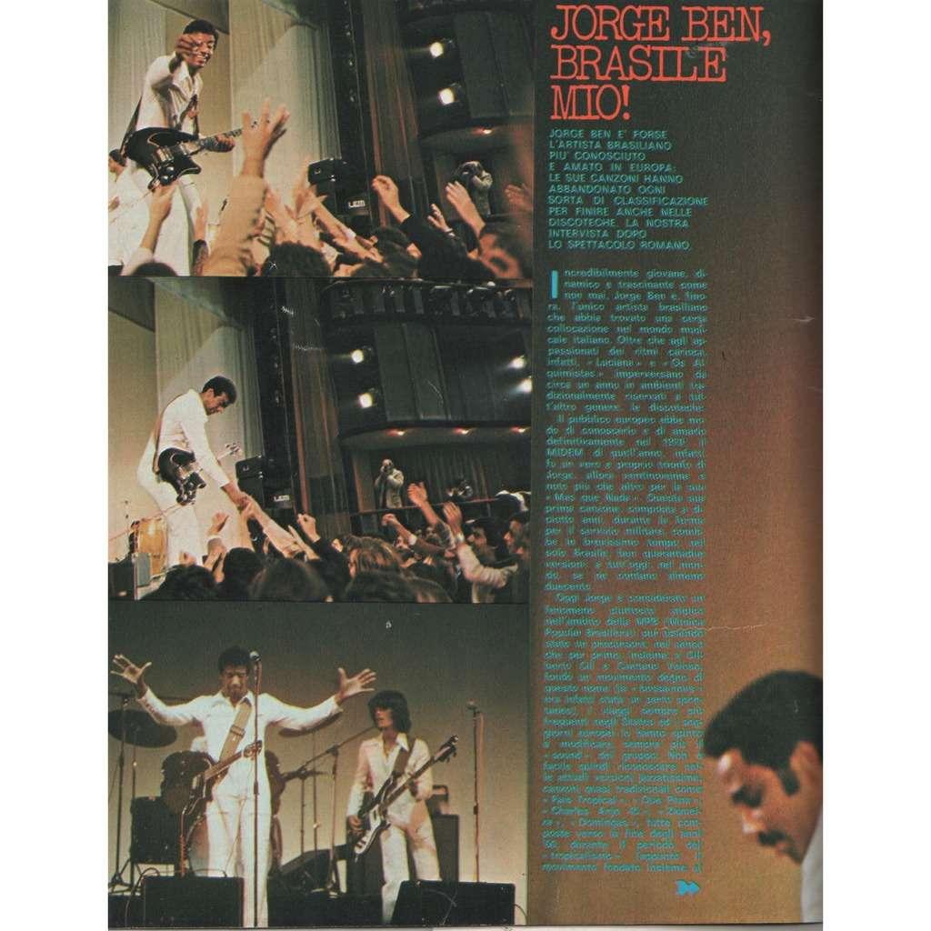 Jorge Ben Ciao 2001 (21.11.1976) (Italian 1976 music magazine!!)