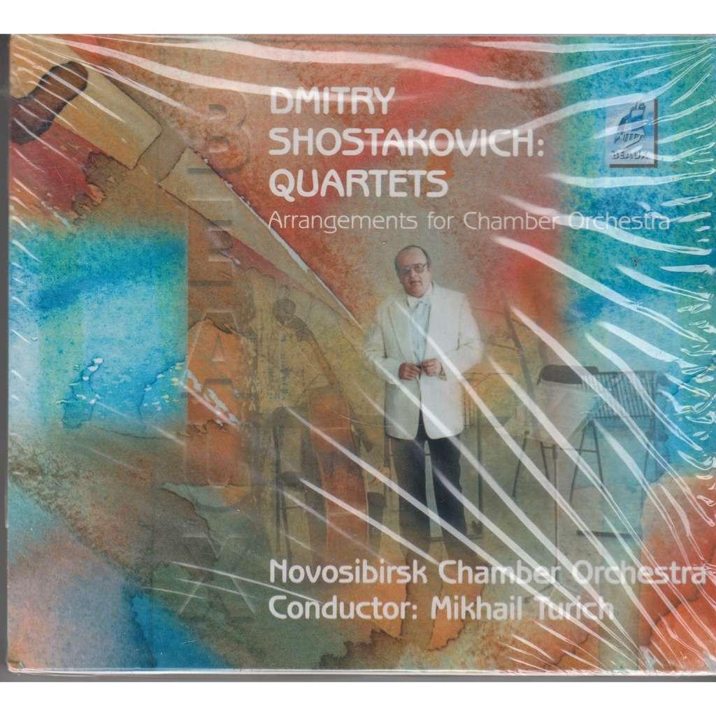 MIKHAIL TURICH Shostakovich String Quartets 3 & 4 arr. for Chamber Orchestra CD NEW
