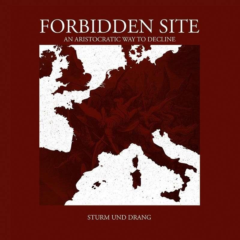 FORBIDDEN SITE Sturm Und Drang. Red Vinyl