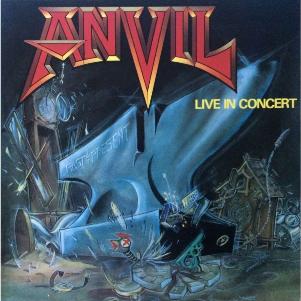 ANVIL - PAST AND PRESENT LIVE IN CONCERT (DUTCH PRESSING 12 VINYL LP)
