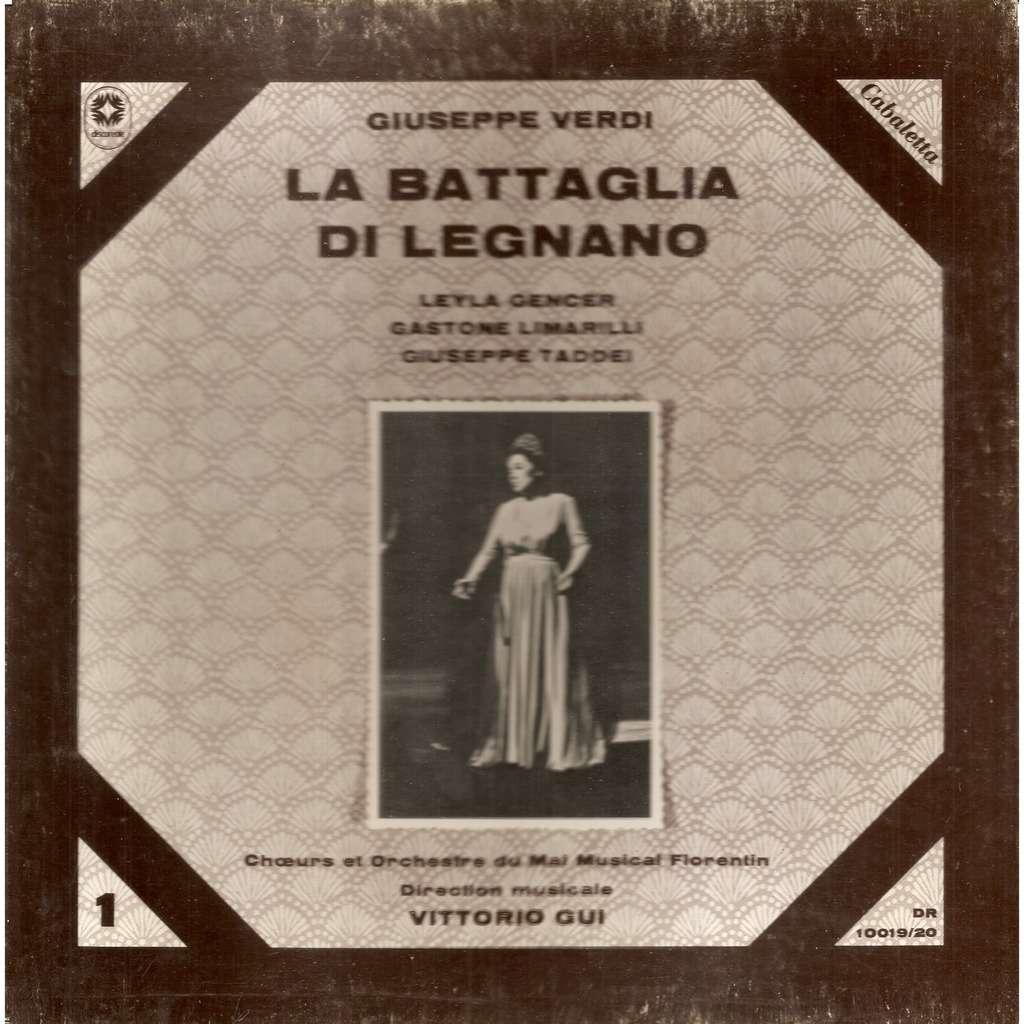 Leyla GENCER VERDI La Bataglia di Legnano Opéra en 4 actes (Live 1959)