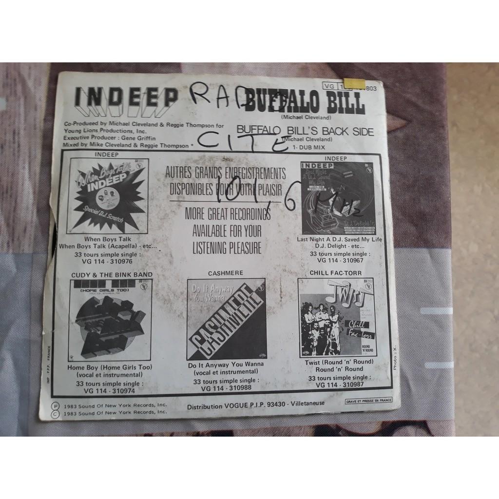 Indeep - Buffalo Bill (7) Indeep - Buffalo Bill (7)