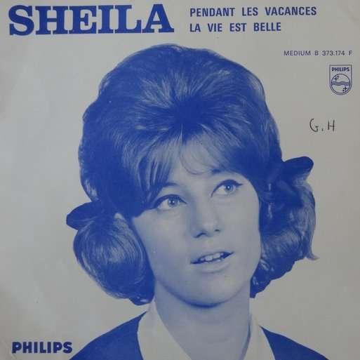 SHEILA PENDANT LES VACANCES