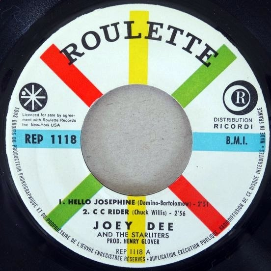 JOEY DEE TWIST MADISON - HELLO JOSEPHINE
