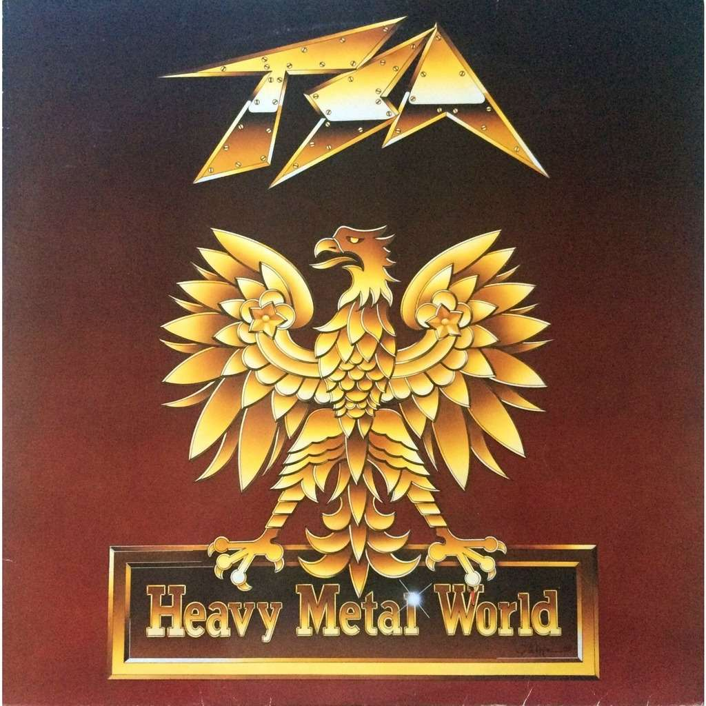 TSA - HEAVY METAL WORLD (BEL. PRESSING 12 VINYL LP)
