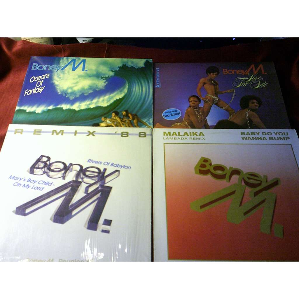 Boney M. COLLECTION DE 12 VINYLES