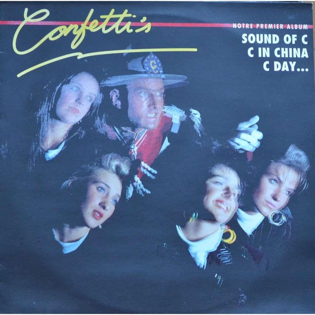 CONFETTI'S notre premier album