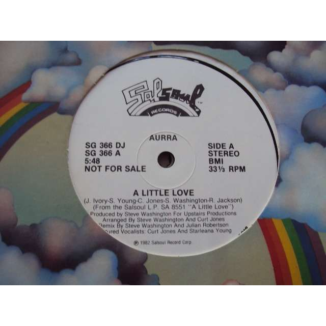Aurra A LITTLE LOVE (Vocal 5'48) 1982 USA PROMO COPY