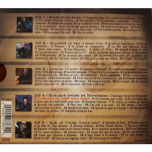 Johnny Hallyday Les 100 plus belles chansons