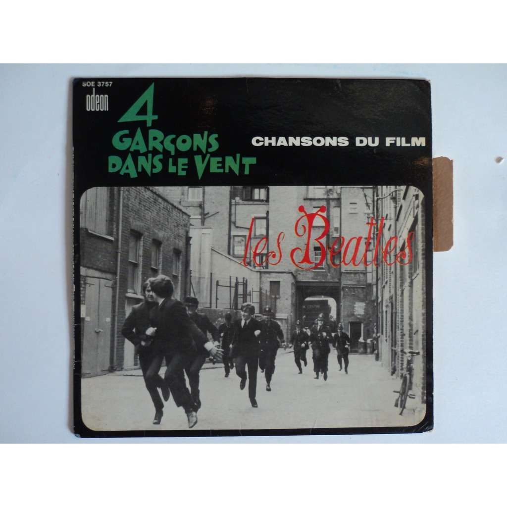 beatles a hard day's night + 3  4 garcons dans l vent