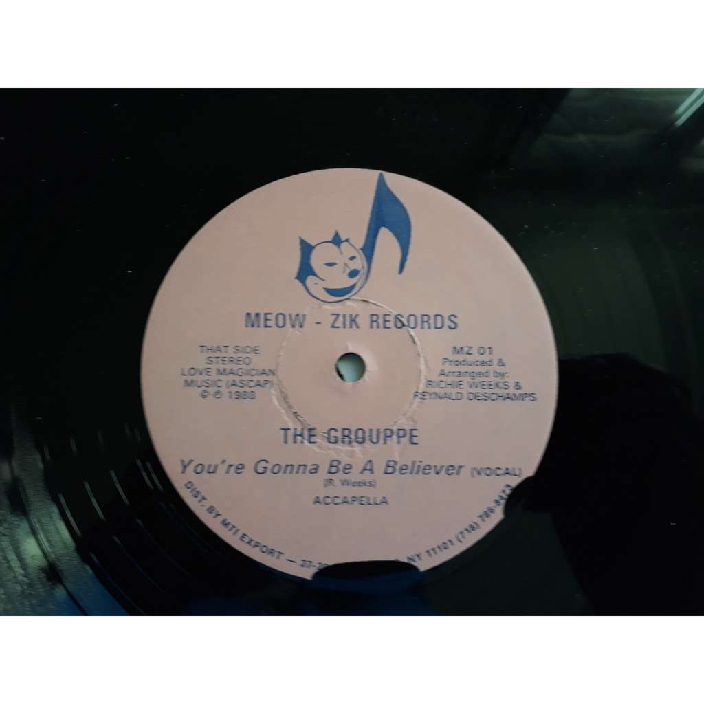 The Grouppe - You're Gonna Be A Believer (12) The Grouppe - You're Gonna Be A Believer (12)