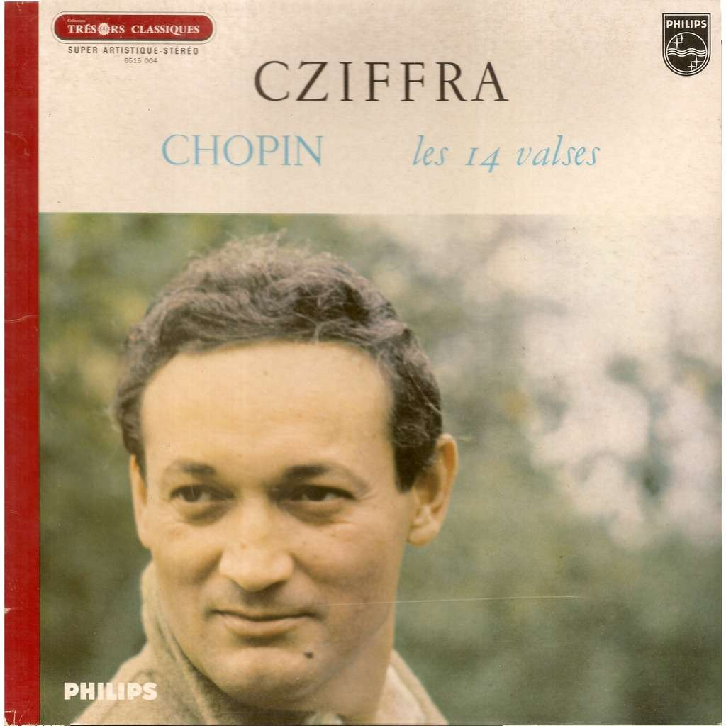 Gyorgy CZIFFRA, piano Frédéric CHOPIN Les 14 Valses