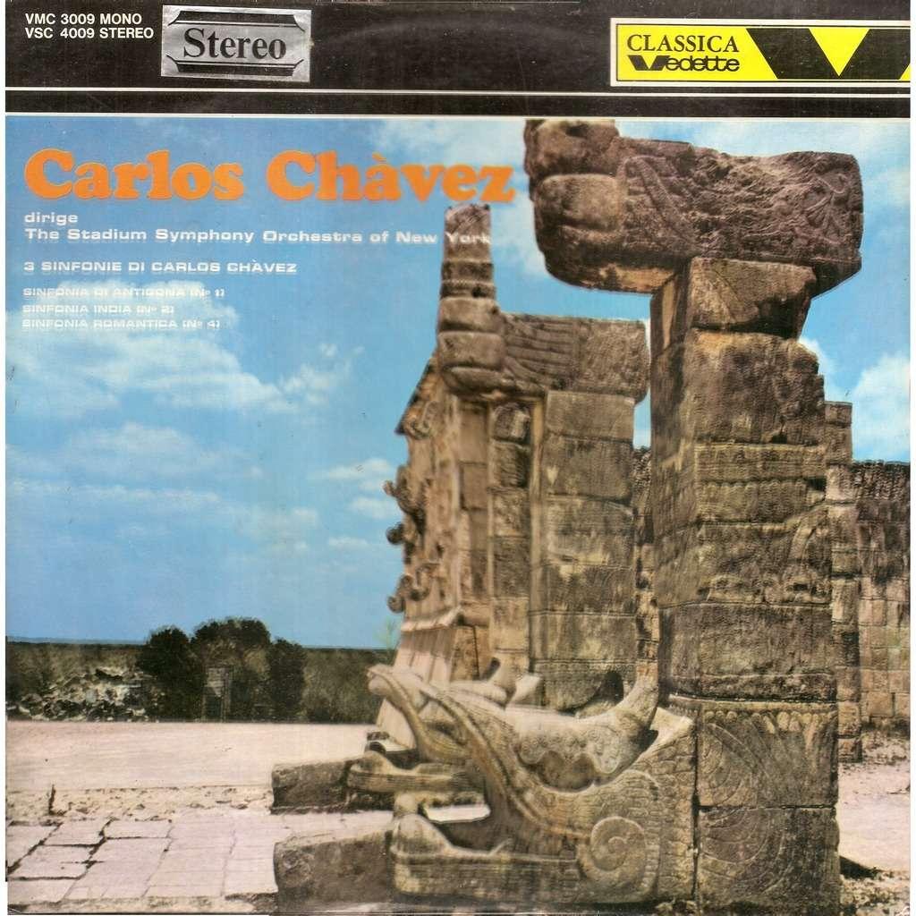 Carlos CHAVEZ,compositeur Dirige 3 Sinfonie