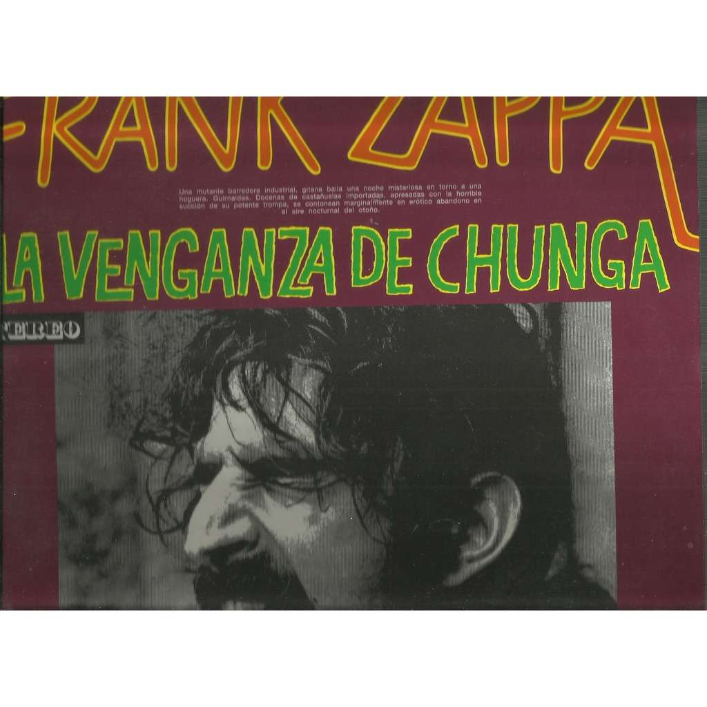 frank zappa la venganza de chunga