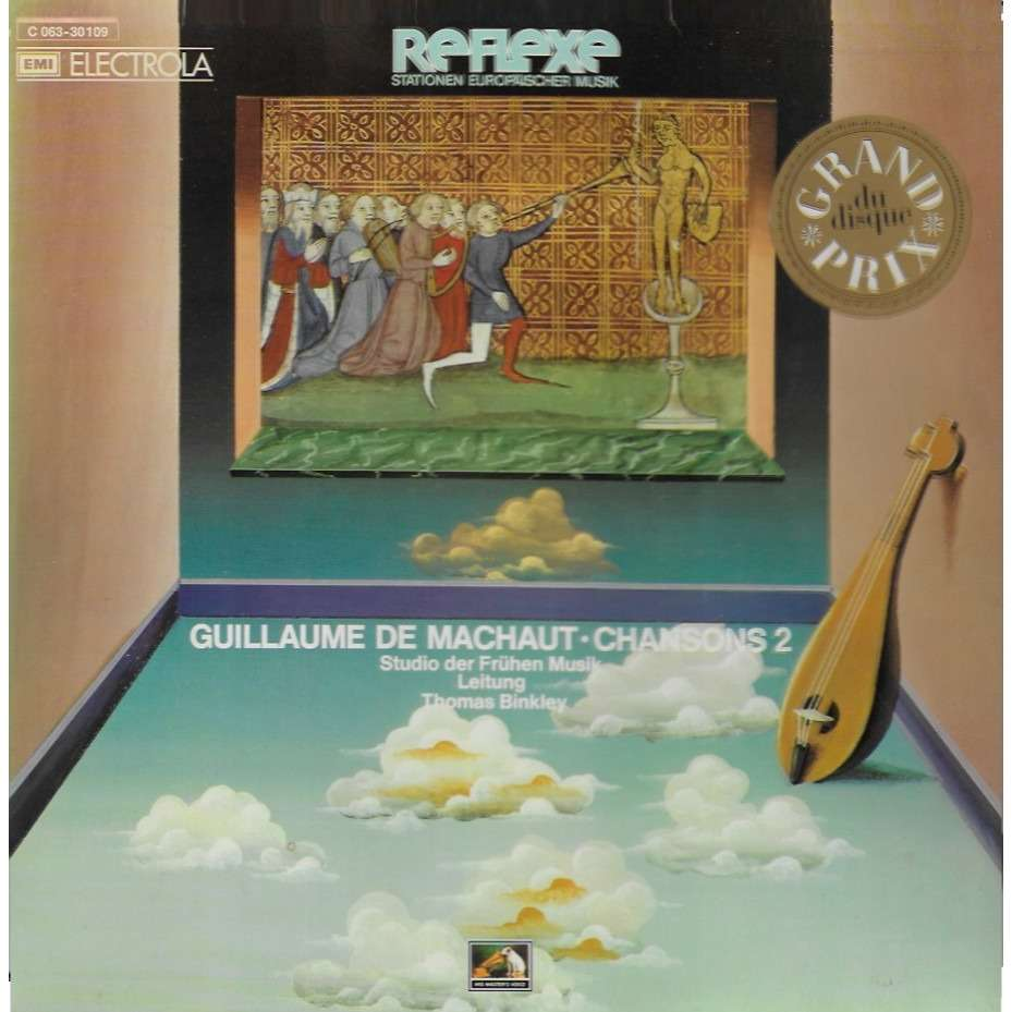 Thomas BINKLEY chef d'orchestre Guillaume DE MACHAUT Chansons 2'