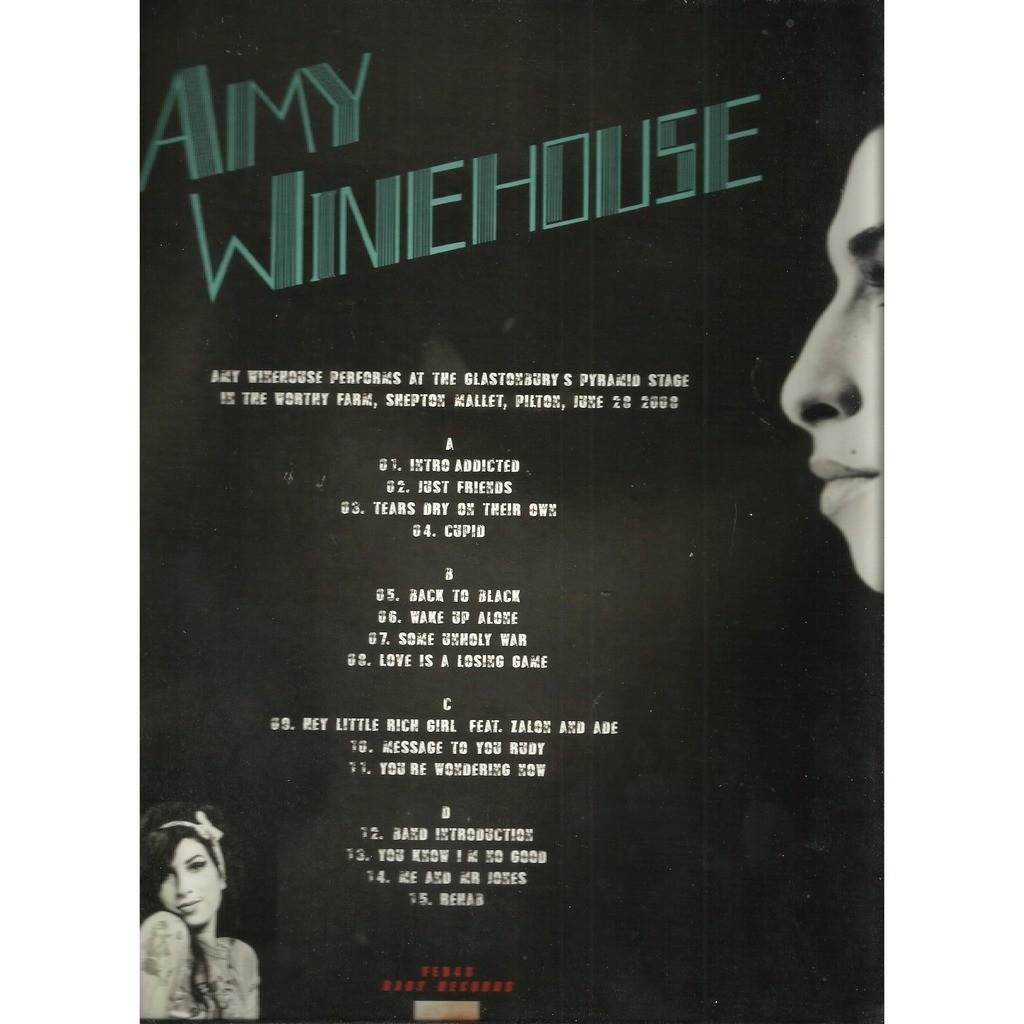 amy winehouse the glastonbury 2008