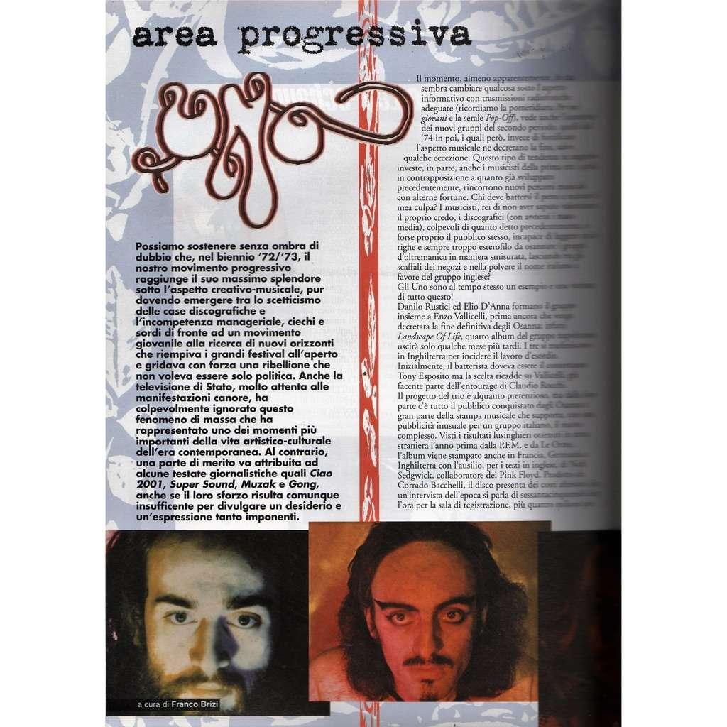 UNO RARO! (N.122 May 2001) (Italian 2001 music collector's magazine!!)