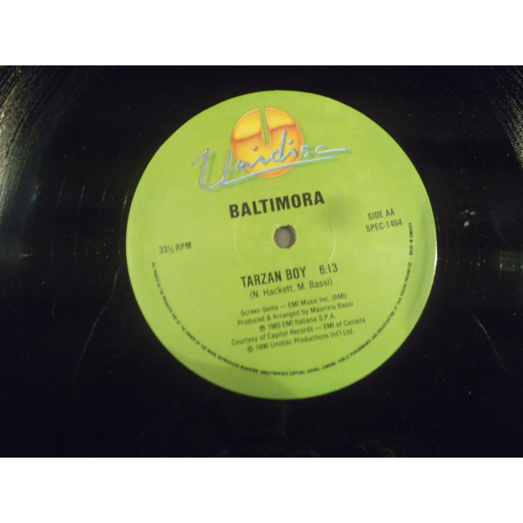 Jermaine Stewart / Baltimora We Don't Have To Take Our Clothes Off / Tarzan Boy