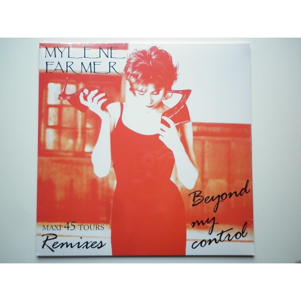 Mylene Farmer Beyond My Control Exclusivité couleur Blanc