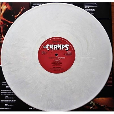 The Cramps Big Beat From Badsville (Euro 2001 Ltd 14-trk LP WHITE wax full ps + inner slv! SEALED COPY!!)