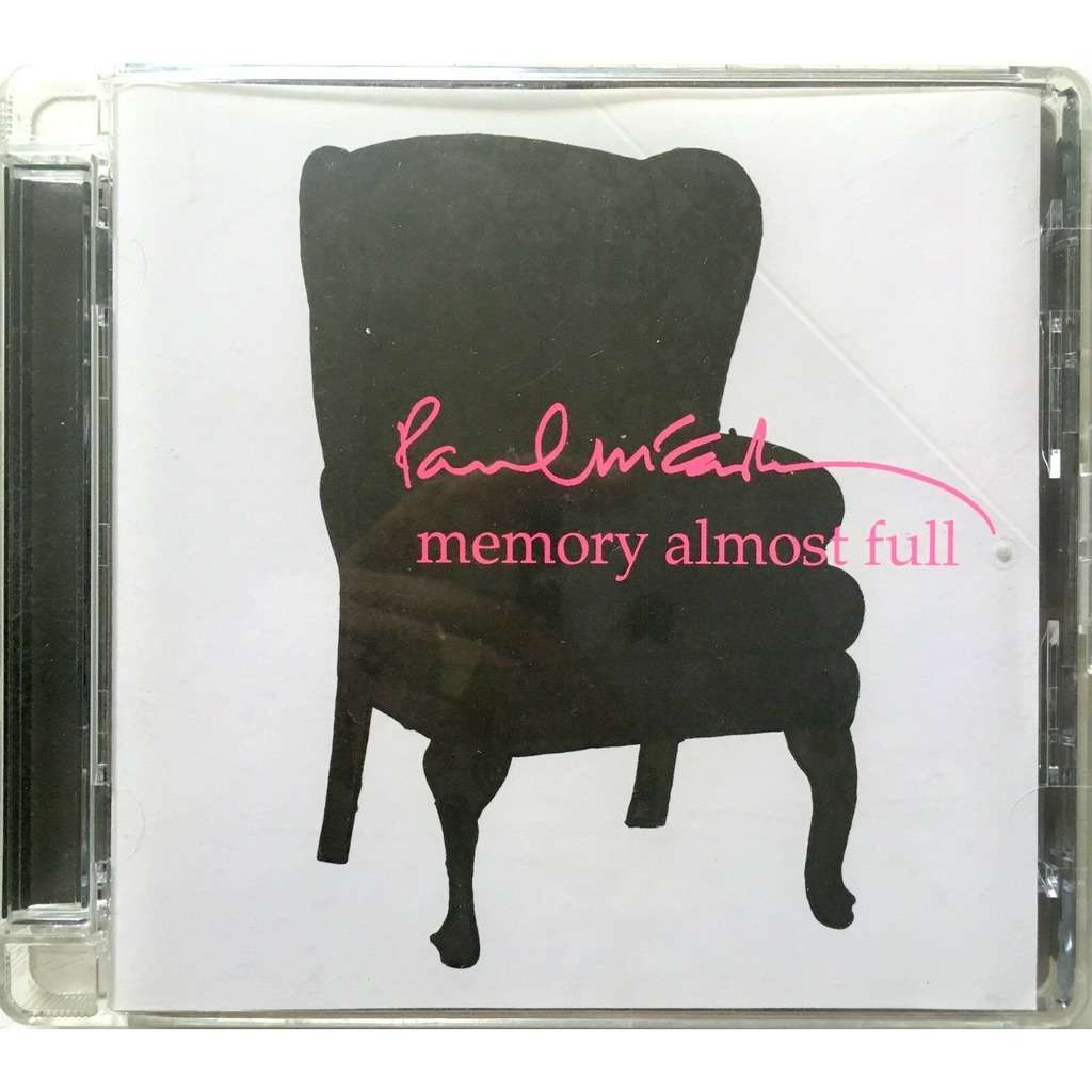 BEATLES / PAUL Mc CARTNEY - MEMORY ALMOST FULL (EURO PRESSING 1 CD)