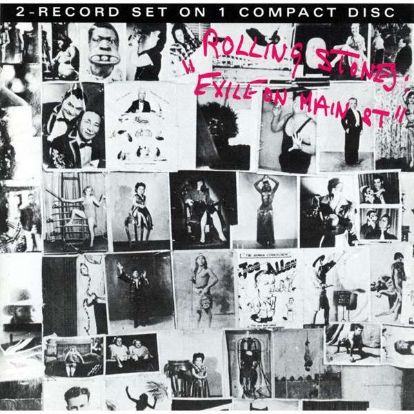ROLLING STONES - EXILE ON MAIN ST (DUTCH PRESSING 1 CD)