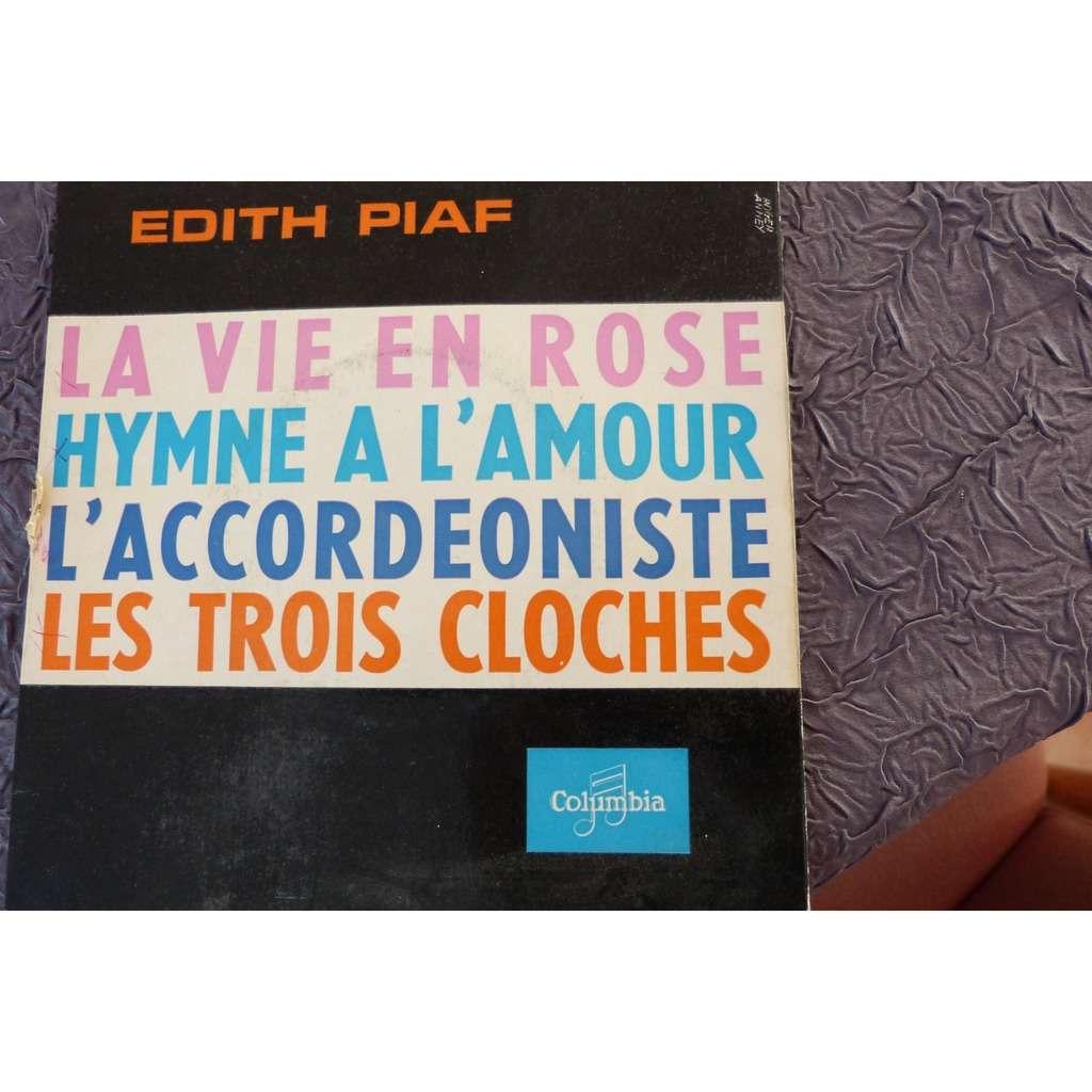 EDITH PIAF LA VIE EN ROSE HYMNE A L'AMOUR