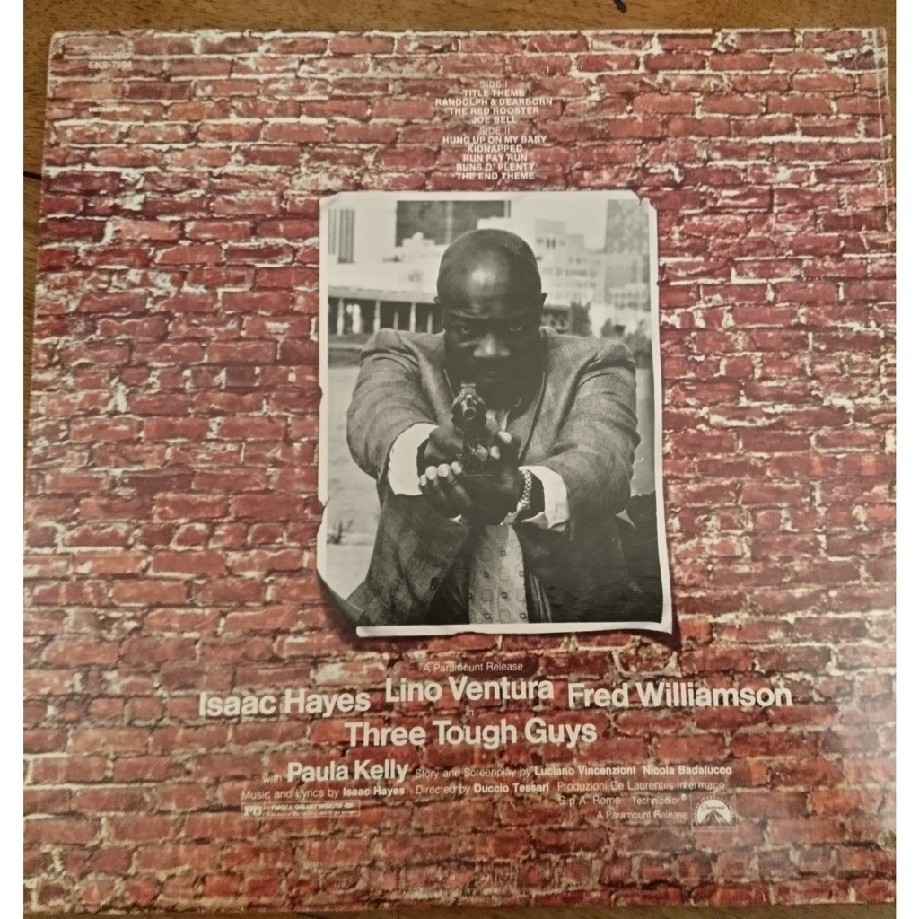 isaac hayes tough guys (sound track)