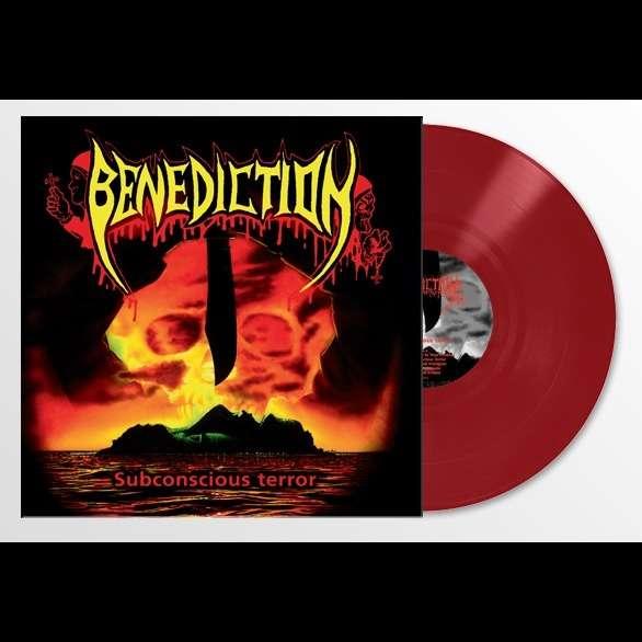 BENEDICTION Subconcious Terror. Red Vinyl