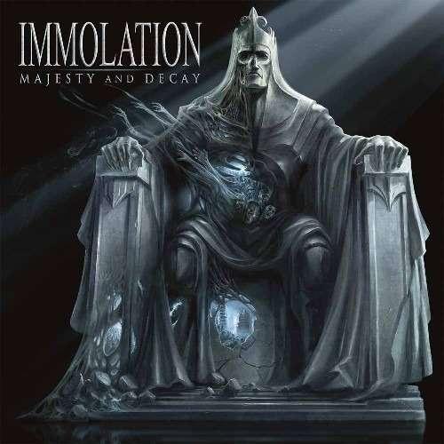 IMMOLATION Majesty And Decay. Splatter Vinyl