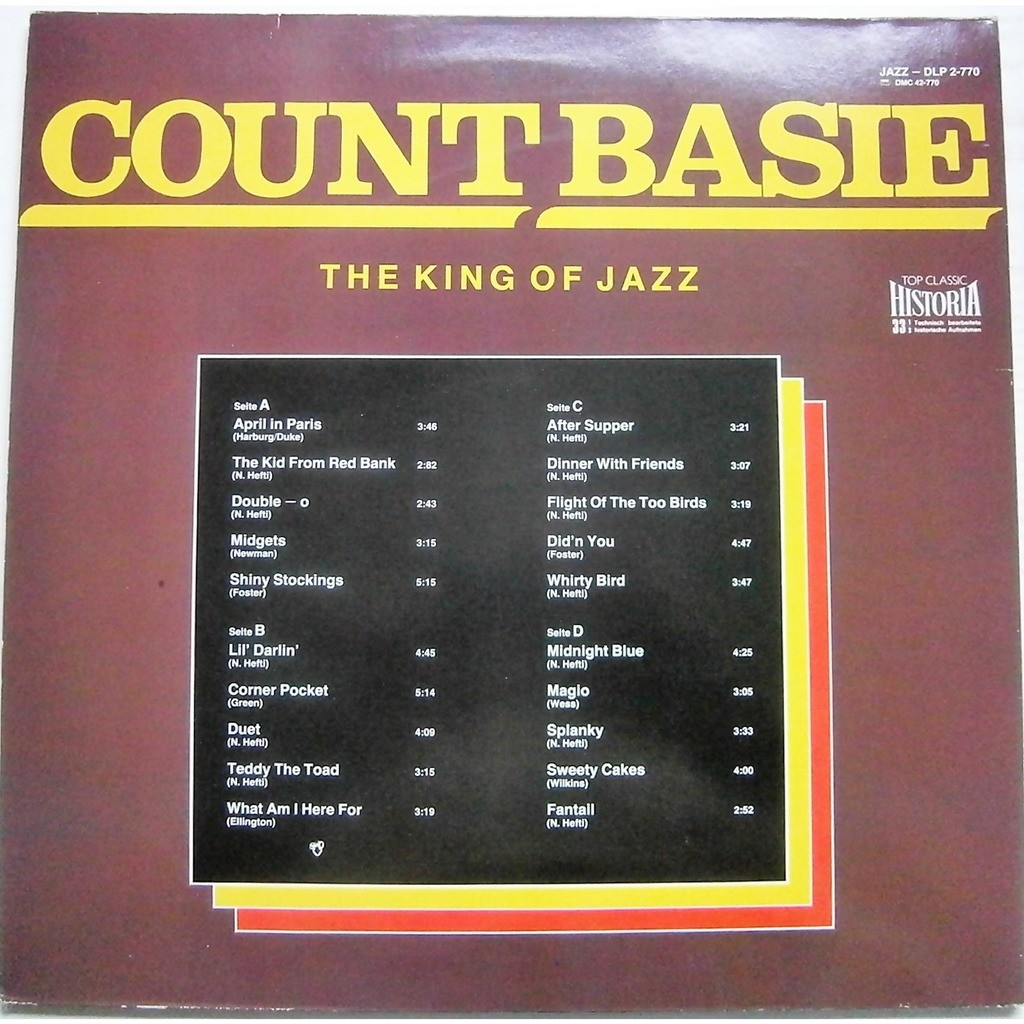 count basie the king of jazz