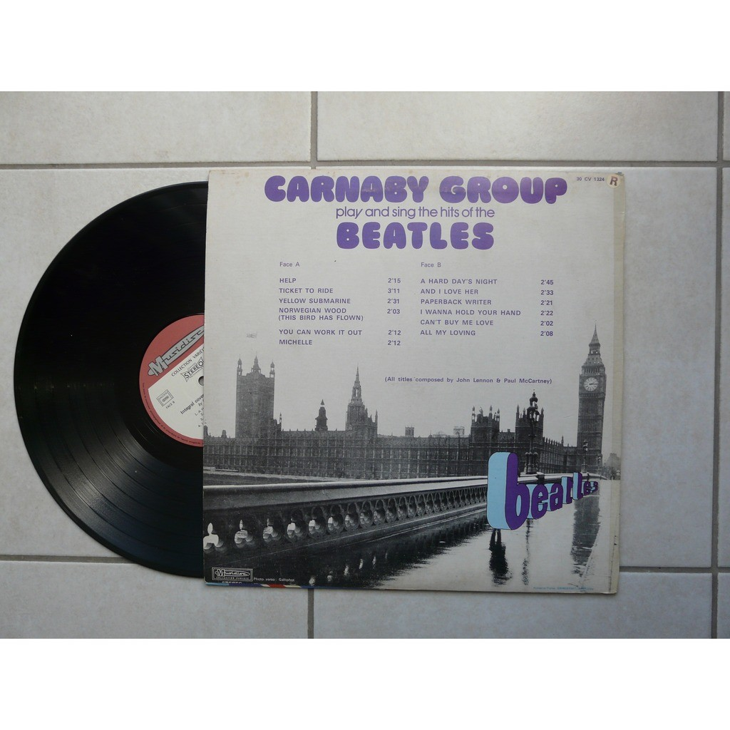 carnaby group play and sing the hits of the beatles