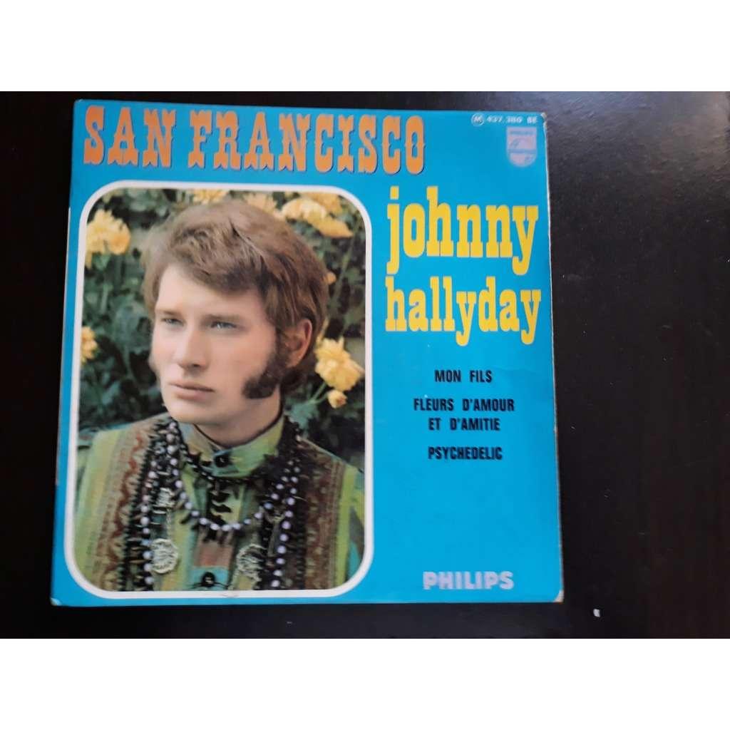Johnny Hallyday - San Francisco (7, EP) Johnny Hallyday - San Francisco (7, EP)