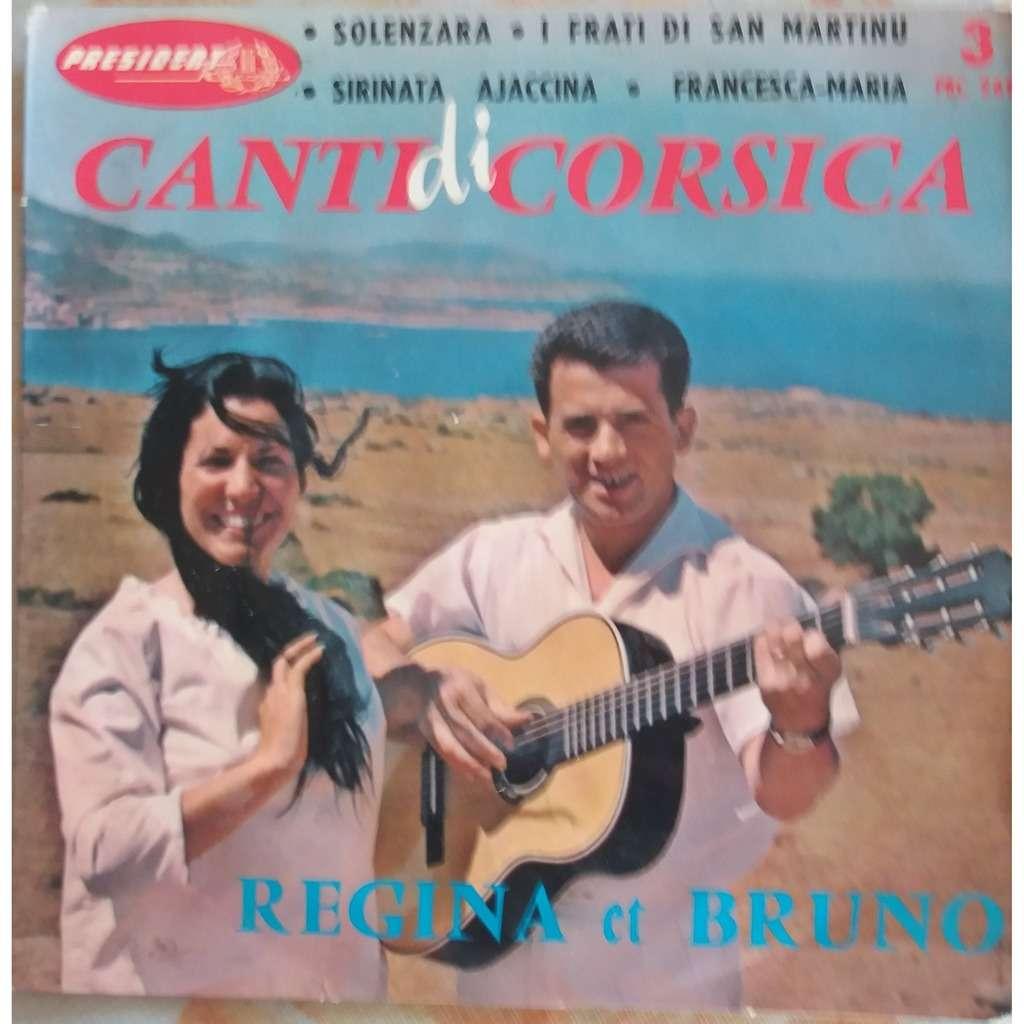 REGINA ET BRUNO CANTI DI CORSICA : SOLENZARA + 3 ( 1ere pochette - n° 3 )