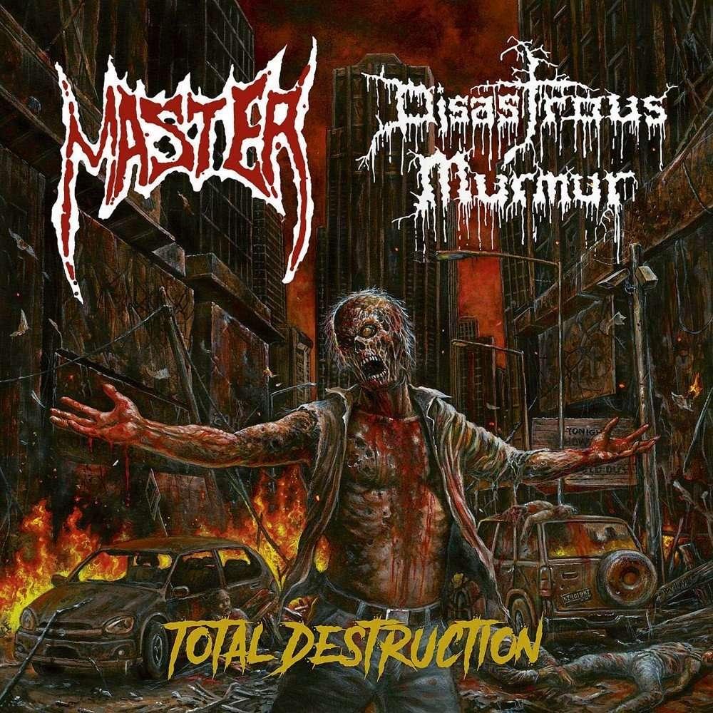 MASTER / DISASTROUS MURMUR Total Destruction. Black Vinyl