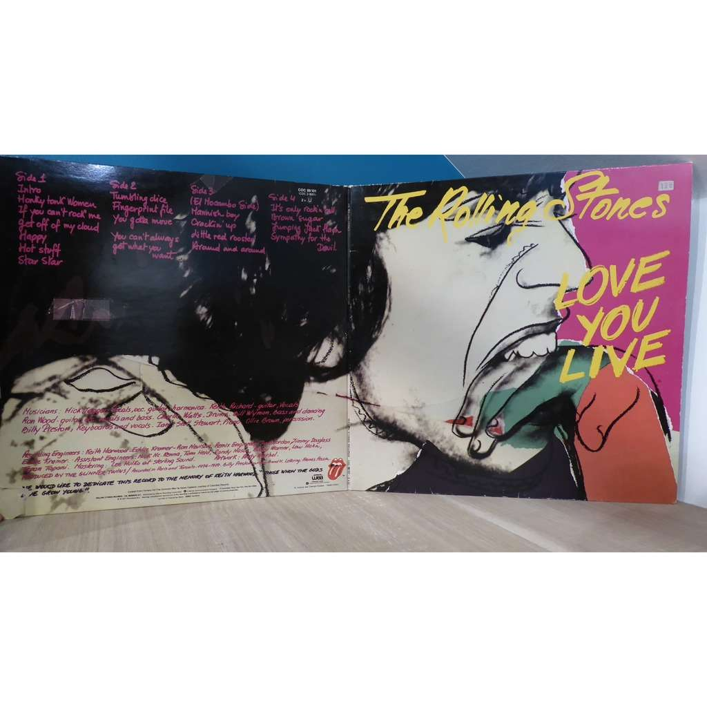 the rolling stones love you live