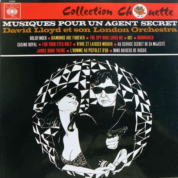 David Lloyd & son London Orchestra Musique pour un agent secret